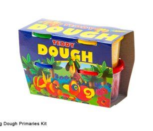 Teddy Dough 4x100g Primaries Kit