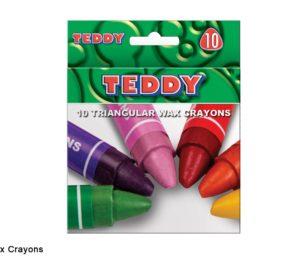 Triangular Wax Crayons