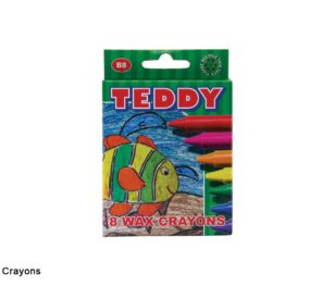 Wax Crayons 8