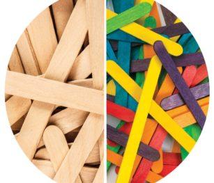 Wooden Pop Sticks 2