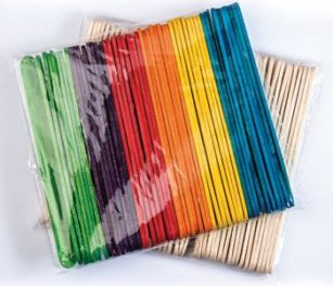 Wooden Pop Sticks
