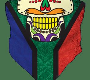 Buff Impression Saflag Skull