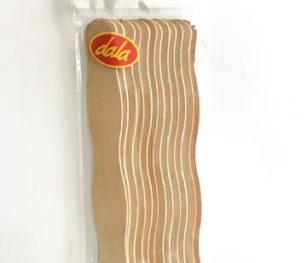Curved Wooden Pop Sticks