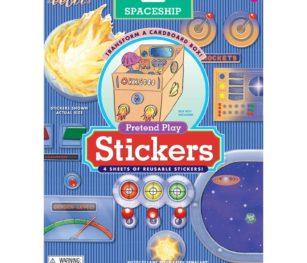 Eeboo Pretend Play Spaceship Stickers 2