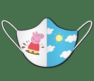 Facemask Kids Impression2 Panels Peppa3