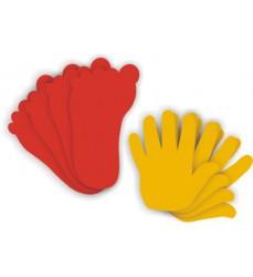 Hands 4 Feet 4 Rubber Set