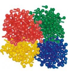 Pegs 500pc 4 Colours