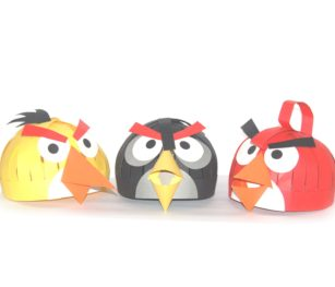 Hungry Birds Hats (pack Of 3)