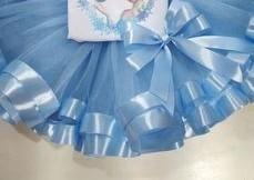 Ribbon Skirt Blue