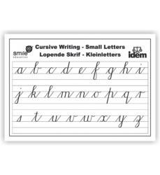 Wc Cursive Small Letters A2