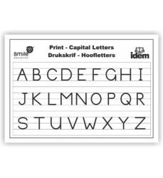 Wc Print Capital Letters A2