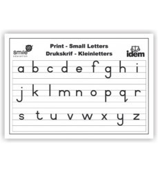 Wc Print Small Letters A2